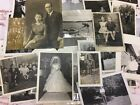 Vintage Black White Photos Travel People Farm Kids  Animals Lot of 100 Unknown