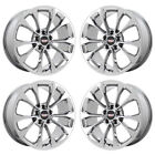 18 CADILLAC ATS COUPE PVD CHROME WHEELS RIMS FACTORY OEM 2018 SET 4 4731 4734