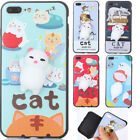 Squishy Phone 3D Silicone Pinch Cat TPU Gel Case For Huawei Samsung Xiaomi iPhon