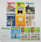 LOT OF 8 WEIGHT WATCHERS WEEKLY GUIDES JUNE  JULY 2017 WITH RECIPES  COUPONS