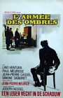 ARMY OF SHADOWS LARMEE DES OMBRES Belgian movie poster MELVILLE VENTURA MINT