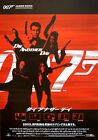 DIE ANOTHER DAY JAMES BOND Japanese B2 movie poster PIERCE BROSNAN HALLE BERRY