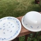 Corelle Provincial Blue, 2 Cereal, and 3 Bread/Butter/Dessert Plates