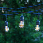 Outdoor String Lights for Patio Exterior Lights Weatherproof Vintage Bistro 48ft