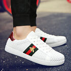 New Fashion Weave Breathable Sneakers Sport Casual Running Board Mens Shoes V5