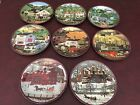 Charles Wysocki Peppercricket Grove Collection Bradford Limited Edition 8 Plates