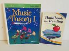 Abeka Handbook for Reading and Music Theory 1 Home School