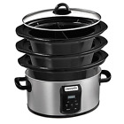 Crock-pot SCCPVS642-S Choose-A-Crock Programmable Slow Cooker, 6 quart/4 quart/2