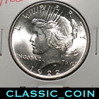NICE 1922 SILVER PEACE DOLLAR 1 UNCIRCULATED FREE SHIPPING