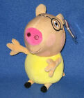 TY PEDRO PONY BEANIE BABY (PEPPA PIG) - MINT TAGS - UK EXCLUSIVE