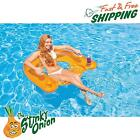 Inflatable Pool Tube 60x39 Swim Lounge Water Lounger Float Chair