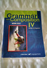 Abeka Grammar and Composition IV grade 10 student book