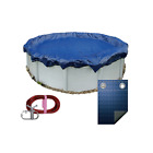 NEW POOLTUX 21 WINTER ABOVE GROUND ROUND POOL COVER 10 YR WARRANTY