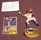 1993 Starting Lineup Delino DeShields Figure With Card Montreal Expos