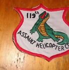 1960s era POCKET PATCH, 119TH ASSAULT HELICOPTER COMPANY