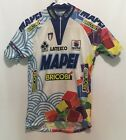SPORTFUL COLNAGO MAPEI BRICOBI CYCLING JERSEY SHIRT VINTAGE Colorful Latexco S
