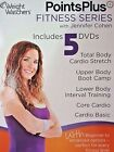 Weight Watchers Points Plus Fitness Series Jennifer Cohen 5 DVD Set New Sealed