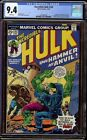 Incredible Hulk # 182 CGC 9.4 White (Marvel, 1974) 3rd appearance Wolverine