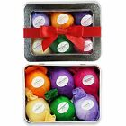 Gift Set Bath Bomb 6 Vegan All Natural Essential Oil Lush Assorted Gift For Spa