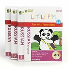 Little Pim Russian Kids Ages0 6 Years Discovery Language Boxed 3 DVD Set Vol1
