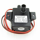 Waterproof Submersible DC12V CPU Cooling CAR Brushless Water Oil Pump ABS