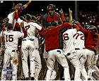 David Ortiz Signed Boston Red Sox 2013 WS On Top of Team Celebration Pile 16x20