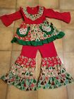 New Girls Christmas Boutique Outfit 2T and 3T available 5 2T