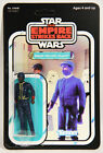 L001022 Star Wars ESB 1982 Action Figure Bespin Security Guard Black RECARDED