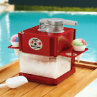 Snow Cone Machine Ice Cube Shaving Crusher Slushes Party Drink Cool Nostalgia