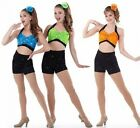 Come And Get It Dance Costume Crop Top and Shorts Clearance CS6X7CMCXLALAXL