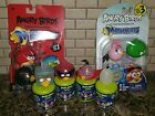 8 Angry Birds Mashems Black Red Pink Stella Green Pig Egg Mask Blue Space New