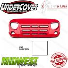 Undercover NightHawk Grenade Bright White Grille Fits 2007 2018 Jeep Wrangler