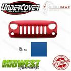 Undercover NightHawk Carnage Hydro Blue Grille Fits 2007 2018 Jeep Wrangler JK
