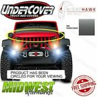 Undercover NightHawk Granite Crystal Light Brow Fits 2007 2018 Jeep Wrangler JK