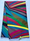 African Fabric Ankara Multicolored Kaleidoscope YARD or WHOLESALE