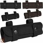 Hunting Leather Cartridge Holder Bullet Pouch .22 cal Belt Ammo Wallet