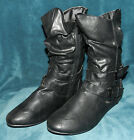 BRAND NEW PAIR OF FOREVER BRAND BLACK BOOTS BOOTIES SIZE 9