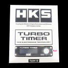 HKS Universal Turbo Timer Type-0 Digital Display BackLight Blue LED Fast Ship
