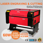 60W CO2 Laser Engraving CNC Router Rotary Axis Rotary Crafts Artwork Usb U-Flash