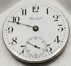 New York Standard Pocket Watch Movement 18s Antique for parts F6947
