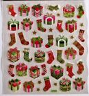 Christmas Presents  Stockings Glitter Accents Christmas Cards HL Stickers