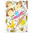 Wall Deco Sticker SCARECROWS 63 PS58162 M