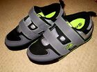 HEELYS Double Threat 2 Wheels SKATE SNEAKERS Gray Black SHOES sz Youth 1 NEW