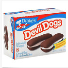DEVIL DOGS BY DRAKES CAKES! 1 Box!