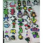 Lot of 120 NEW Chunky Foam Stamps Assortment great for school Various Shapes