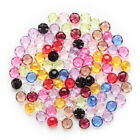 50pcs Shank Mixed Acrylic Buttons Sewing Scrapbooking Decor Clothing Home 12mm