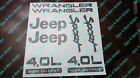 1997 2002 JEEP WRANGLER Sport 40L HIGH OUTPUT Replacement fender Decal sticker