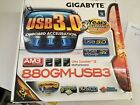 GIGABYTE GA 880GM USB3 AM3 AMD 880G HDMI USB 30 Micro ATX AMD Motherboard