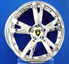 SET LAMBORGHINI GALLARDO 19 INCH CHROME WHEELS 19 RIMS CALISTO 2 PIECE CALLISTO