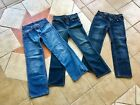 Boys Size 12 3Pairs Jeans Nautica Old Navy Childrens Place Good Condition